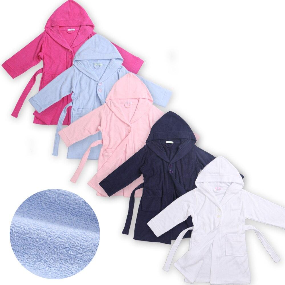 Jungen Kleidung Modische Bademäntel Kinder Jungen Terry Bademantel Kinder Bademantel Bademantel Für Mädchen Dressing Nachthemd In Baumwolle Polyester Tropf-Trocken Nachtwäsche & Nachthemden