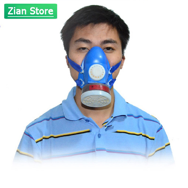 Gas Mask Activated Carbon Fire Escape Organic Gas Spray Paint Pesticide Formaldehyde Self-priming Filter Anti-smoke Respirator