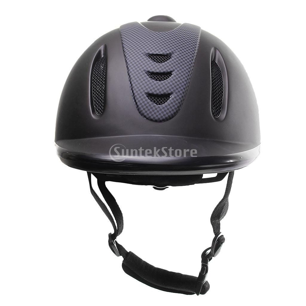 Strengthening ABS Vented Western Riding Safety Low Profile Horse Helmet S M L XL