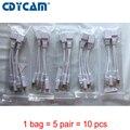 10 unids (5 par) POE Splitter adaptador poe POE Switch POE Cable Apantallado Cinta 5 V 12 V 24 V 48 V fuente de Alimentación Interfaz de Cable 5.5*2.1mm