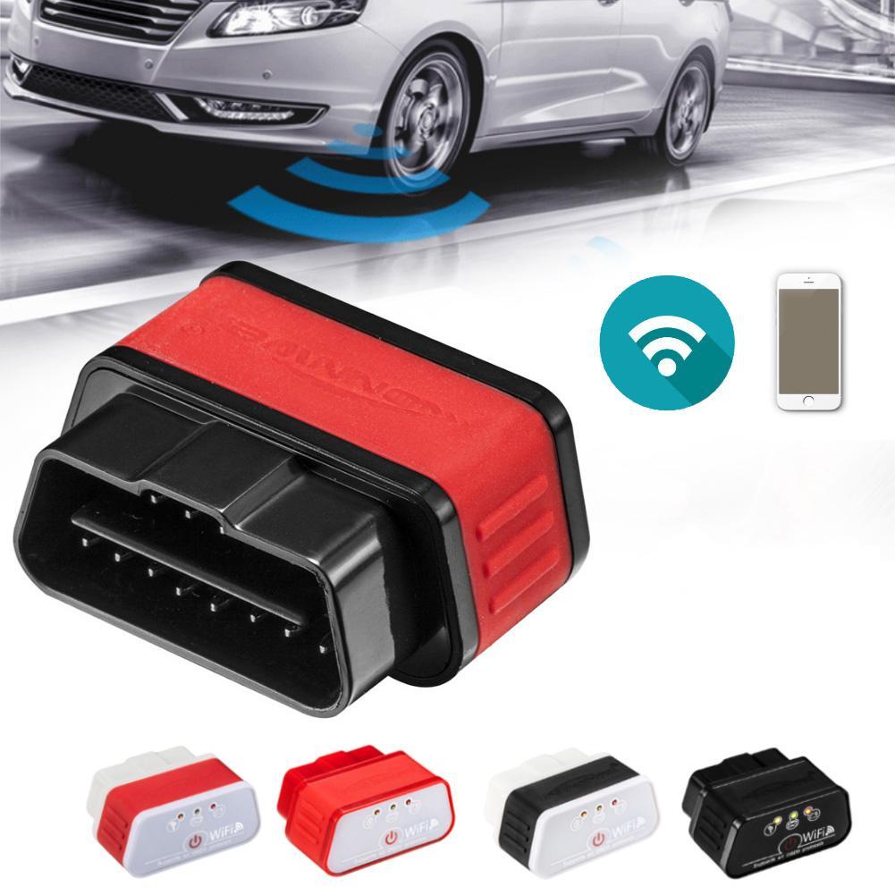 Prix pour KW903 Wifi Scanner Auto OBD2 Outil De Diagnostic WIFI OBDII Scanner Sans Fil voiture Code Scanner Pour Android iOS iPhone 7 Plus CHAUDE A103