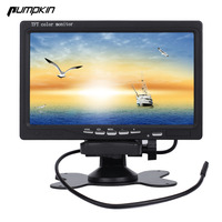 New Pumpkin 7 Inch 16 9 Car TFT LCD Analog TV Stand Alone Monitor Digital Car