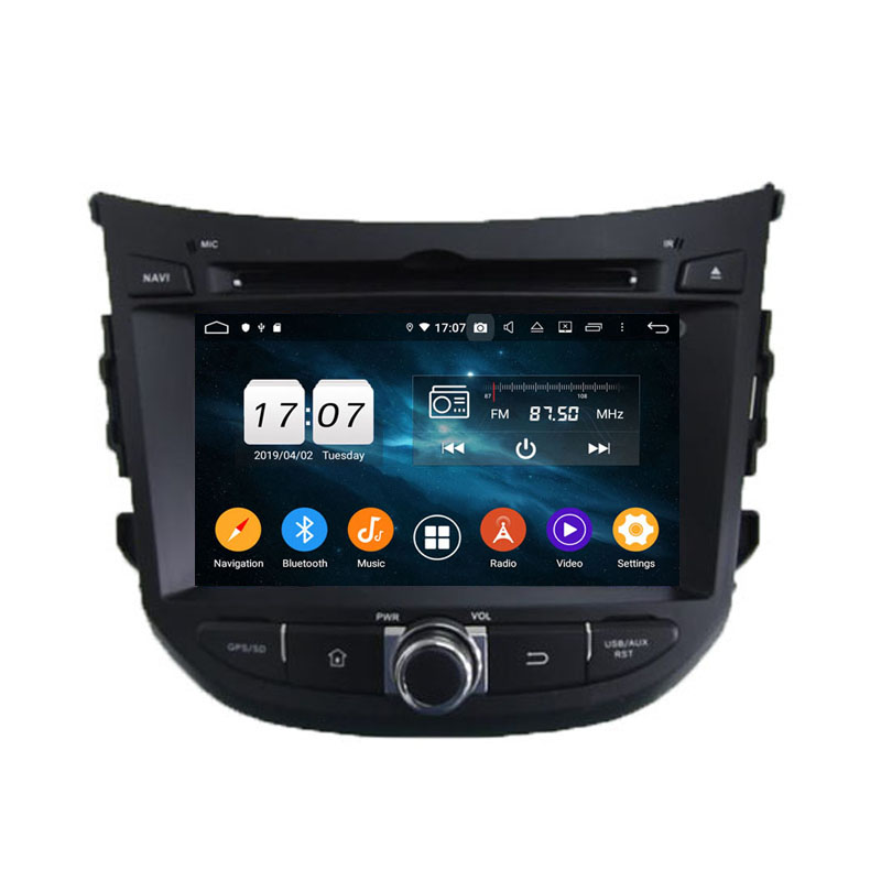ROM 64G Android 9.0 Octa Core pour HYUNDAI HB20 2013 PX5 voiture DVD GPS Navigation multimédia Auto radio lecteur dvd