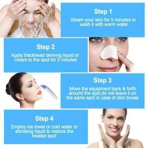 Image 5 - מנקה הנקבובית Remover ואקום חשמלי האף פנים עמוק ניקוי טיפוח עור פנים מכונת מנקה כלים