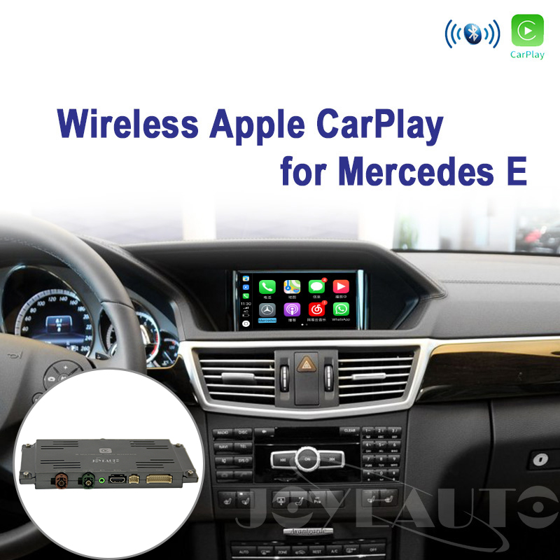 Joyeauto Wireless Apple Carplay for Mercedes E Class C207 2011 2014 NTG4.5/NTG4.7 Retrofit Support Reverse Camera Car Play-in TV Receiver for Car from Automobiles & Motorcycles    1