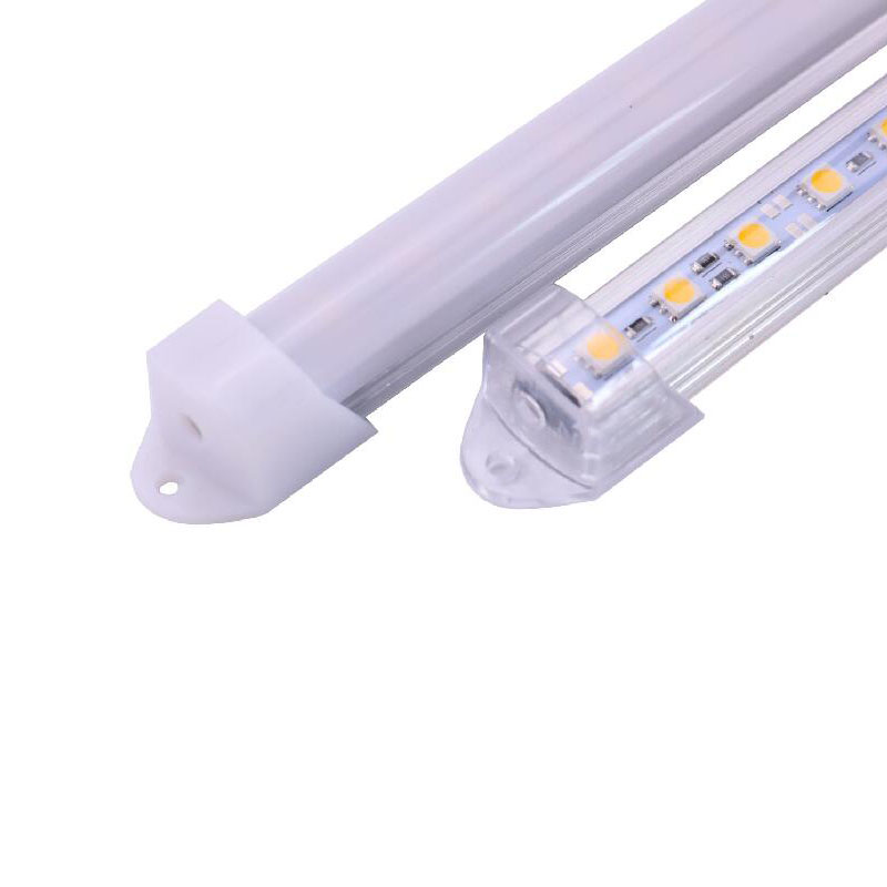 0.5m DC 12 V LED Bar Light Strip Hard Article SMD5050 Rigid Ruban Not Waterproof IP20 50cm 19.68inch 36leds Lamp With Cover 2pcs