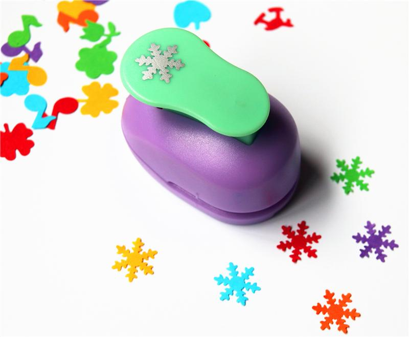 Snowflake Paper Punch 15mm 5/8'' Shapes Craft Punch Diy Puncher Paper Cutter Scrapbooking Punches Scrapbook S29873