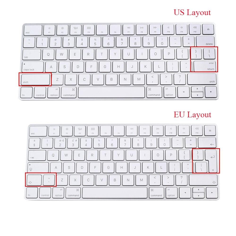 For Apple Magic Bluetooth Wireless Keyboard Protector New Magic Keyboard  Cover Skin European EU Keyboard Layout Silicone Skin