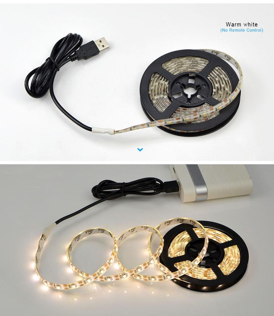 RGB свет лампы для кухни 1М 2М 3М 4М 5М, водонепроницаемая светодиодная подсветка для шкафа шкаф шкаф украшения ночника на светодиодах
