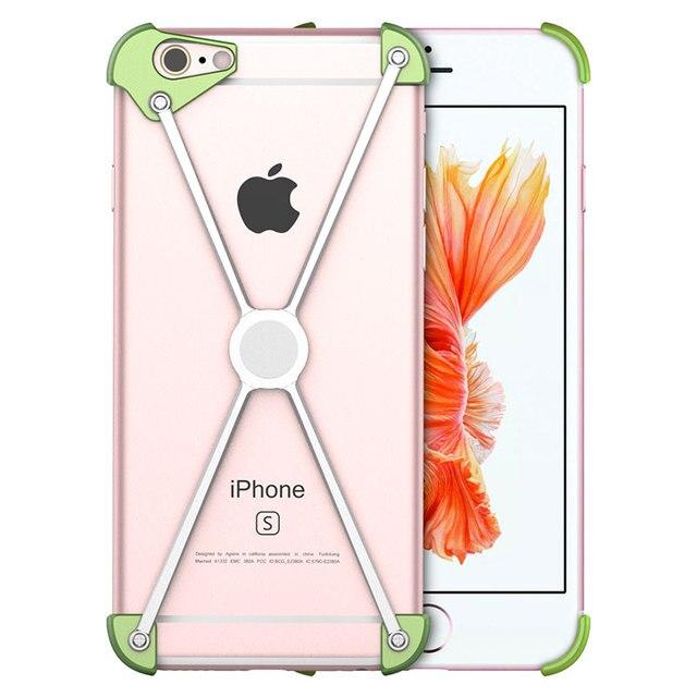 Legal x-men do metal no vidro traseiro para iphone 7 6 s 6 plus tampa magnética moldura de alumínio parafuso protegido caso de telefone à prova de choque