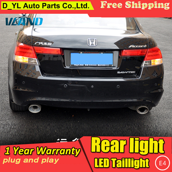 D-YL Car Styling Accessories for Honda Accord LED Taillights 2008-2013 Accord Tail Lamp Rear Lamp DRL+Brake+Park+Signal led