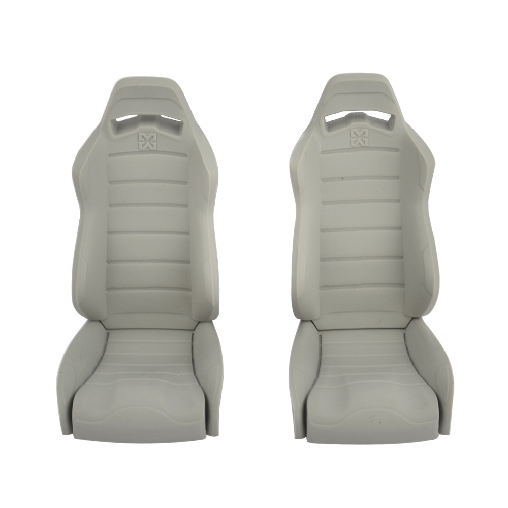2PCS 1/10 Rubber Cab Seat Bench For Axial Axial WRAITH RR10 1:10 Raicng Rock Crawler Truck Accessories