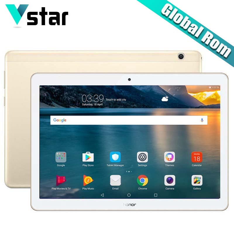 Global ROM Huawei Honor MediaPad T3 10 Honor Play Tablet 2 9 6 inch WiFi Qualcomm