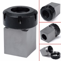1pc ER 40 Square Collet Chuck Holder Mayitr 3900 5125 Block For Lathe Engraving Machine