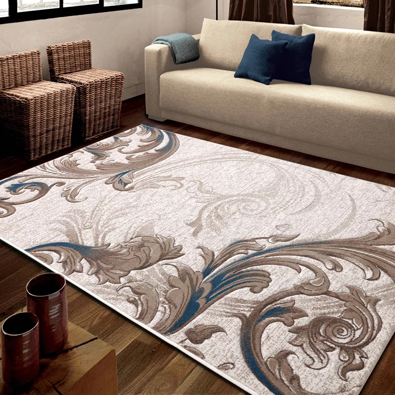 Hand Cutting Big Size Persian Ground Mat Big Size ,office Room Carpet,coffee Table Carpet , Classical Home Decoration