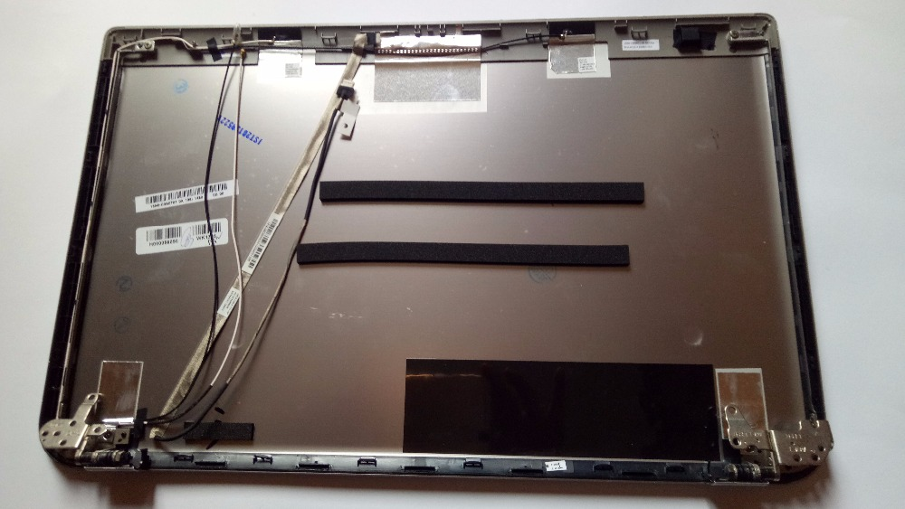 original new for TOSHIBA p55t LCD COVER+hinges H000056090 new laptop for toshiba satellite p55t a5202 p55t a5118 lcd back top cover fit touchscreen a shell