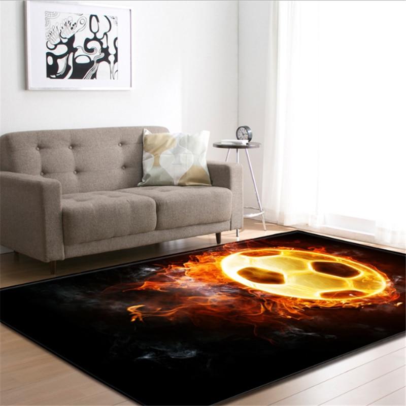 AOVOLL New European Carpets For Living Room Bedroom Rugs Floor Mats Coffee Table Floor Mat Anti Slip Area Rug Carpet Kids Room