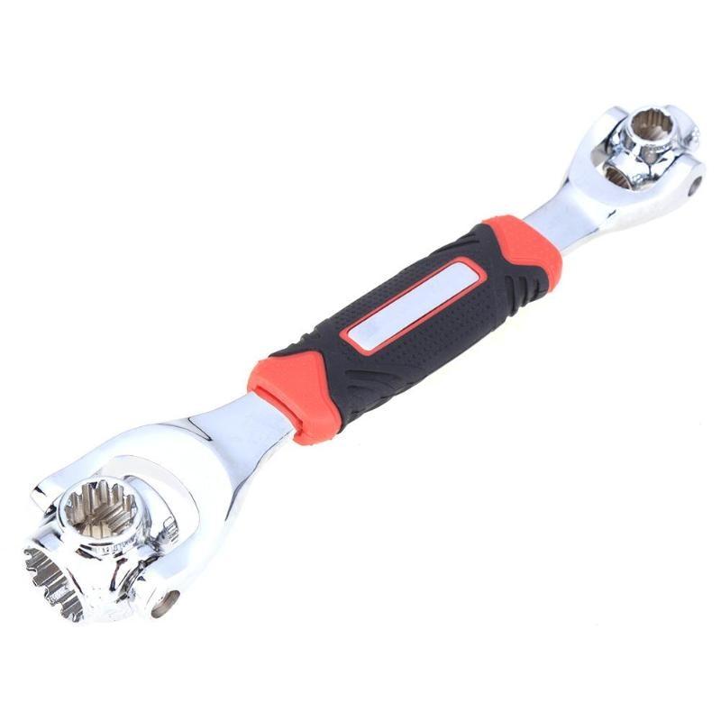 Tigre llave 48 en 1 socket herramientas funciona con Spline tornillos Torx 360 grados 6 punto universial coche muebles reparación herramientas de mano