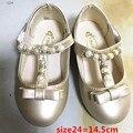 Liquidações oferta especial sapatos de couro meninas princesa sapatos flor sapatos outono sapatos PU frete grátis