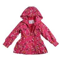 Children Girls Jacket 2015 New Windbreaker Waterproof Hoodies Jackets Kids Brand Outerwear Baby Spring Coat Clothing