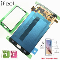 IFEEL 100% Tested LCD Display Touch Screen Digitizer Repair For Samsung Galaxy Note5 N920T N920A N920I N920G Note 5 Super Amoled