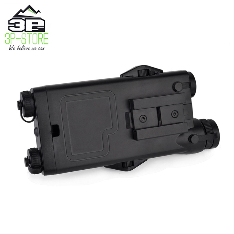 Image 4 - WADSN Airsoft Tactical AN peq PEQ 2 Battery Case Red Laser For 20mm Rails No Function PEQ2 Box WEX426-in Weapon Lights from Sports & Entertainment