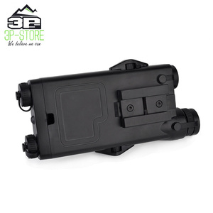 Image 4 - WADSN Airsoft Tactical AN peq PEQ 2 Battery Case Red Laser For 20mm Rails No Function PEQ2 Box WEX426