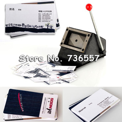 New 90x54mm Busines Card Right Angle Cutter Paper Card Cutting Machine Manual DIY Handhold Cut Tool
