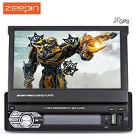 Zeepin 9601G Car Multimedia Player MP5 player 7.0 pollice Touch Screen di Navigazione GPS Controllo del Volante Retromarcia FM Radio