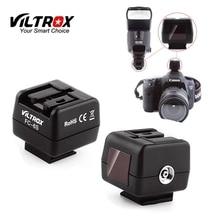 Viltrox FC 6S HotShoe Không Dây Ánh Sáng Đèn Flash Điều Khiển Quang Học Nô Lệ Kích Hoạt Adapter cho Sony Minolta Flash Canon Nikon Máy Ảnh
