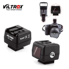 Viltrox FC 6S HotShoe Luce del Flash Wireless Controller Optical Slave Trigger Adattatore per Sony Minolta Flash per Canon Nikon Camera