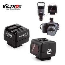 Viltrox FC 6S 핫슈 무선 플래시 라이트 컨트롤러 캐논 니콘 카메라에 소니 미놀타 플래시에 대한 광학 슬레이브 트리거 어댑터