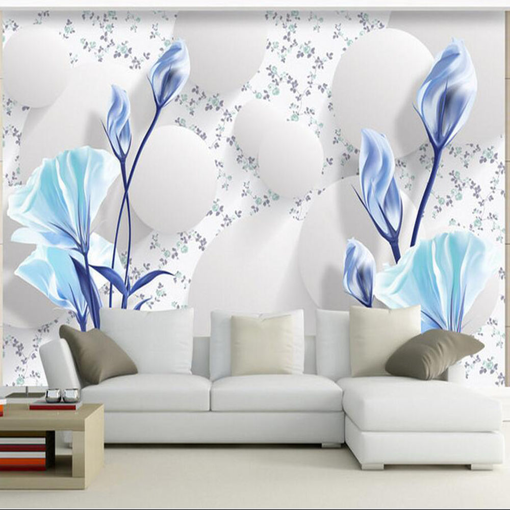 European Wallpaper Wall Mural Photo Wall Paper Living Room papel ...