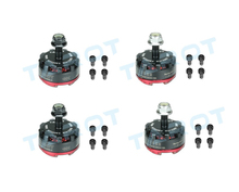 2Pairs MT2205 II 2300KV Motor TL400H14 + TL400H15 CW/CCW for DIY RC Mini Racing Quadcopter Drone 180/190/200/220