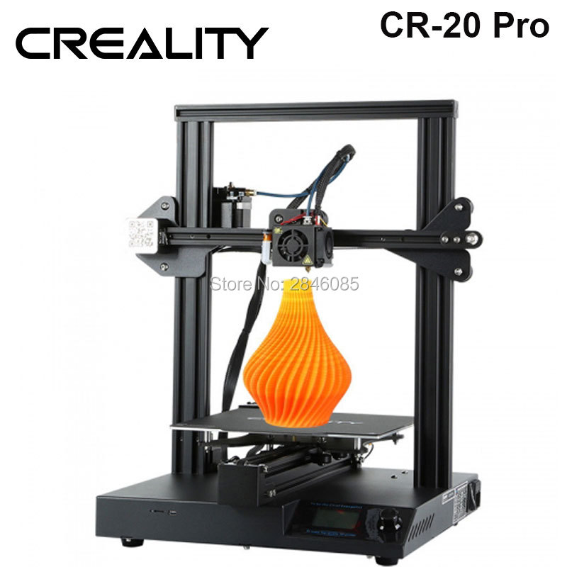 CREALITY 3D CR 20 Pro 3D Printer Auto Leveling, Quickly Heating Up, Resume Printing,High Precision Printing 3D Printer ingco