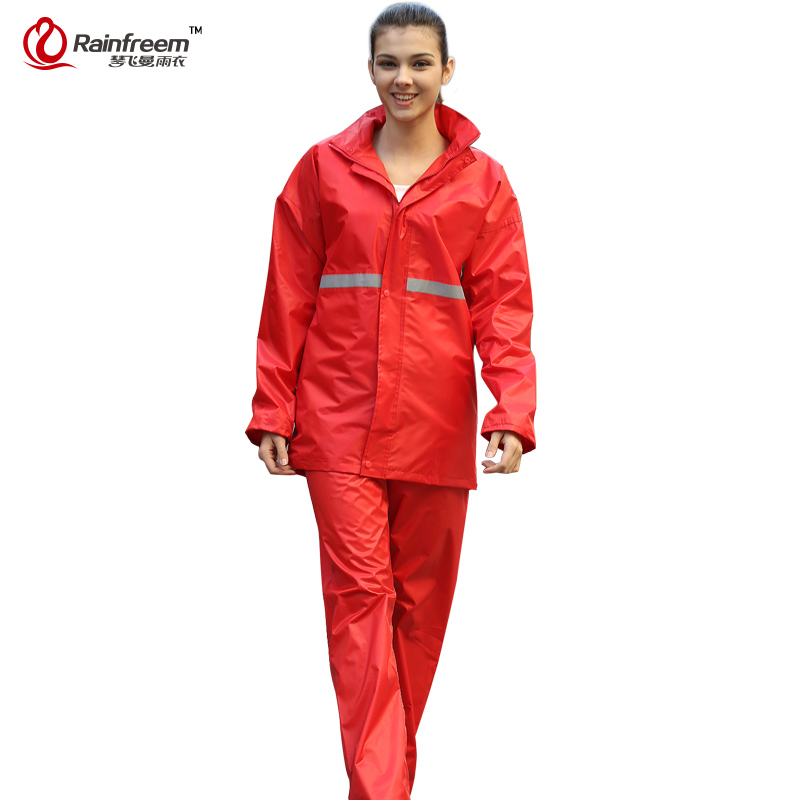 Rainfreem Double-layer Raincoat Unimpermable Women / Men Hujan Kot - Barang dagangan isi rumah