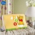 Amarelo Winnie the Pooh Memória Travesseiro 40x25 cm Decoração Do Quarto Dos Miúdos Berço Cama Berço Do Bebê Da Cama da menina Lenta recuperação da Espuma das Ondas saco de dormir
