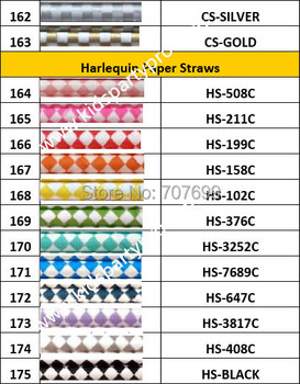 Kids Party Pro Free Shipping New Spring Design Drinking Straws Paper Straws, Daisy  Paper Straws 1000pcs  300+colors Mix