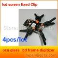Lcd clipe grampo em forma de ferramenta de reparo da tela do telefone para 9500 s5 s4 clipe de fixação para iphone 5 4s