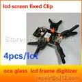 Pantalla lcd clip de pinza en forma de fijación de herramientas de reparación del teléfono para 9500 s5 s4 clip para iphone 5 4s