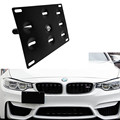 New High Quality Tow Hook License Plate Mounting Bracket Holder for BMW X3 X4 X5 X6 ,2 3 4 5 Series