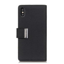 PU phone case For iPhone 7plus X XR 7 8 3 in 1 Kickstand Card pocket Premium Leather Case Flip Phone Cover Samsung S9 S8 S10