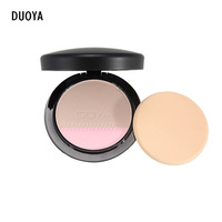 DUOYA Brand 3 Colors Natural Pressed Powder Face Foundation Base Makeup Cosmetics Powder Makeup Powder Palette
