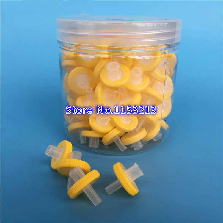 100pcs/lot Disposable syringe filters OD=13MM, 0.22 microns, Made From MCE, Microporous water needle filtration Needle filter mitsubishi heavy industries srk35zm s src35zm s