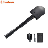 KingCamp Long folding military shovel multifunctional shovel For camping Outdoor survival hiking