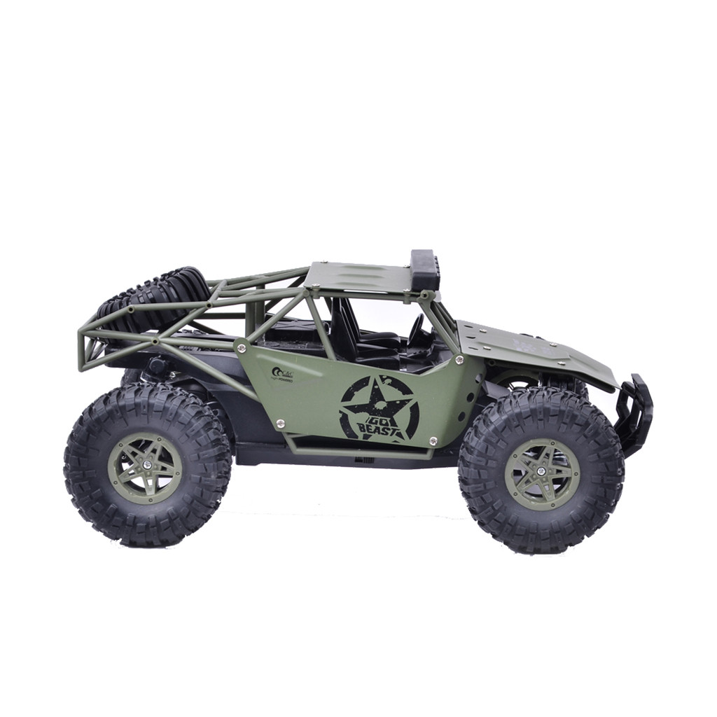 Image 4 - 2019 Remote control car toy BG1527 2.4G 1/16 4WD Military Truck Off road Climbing Alloy RC Car RTR Remote control car toy-in RC Cars from Toys & Hobbies