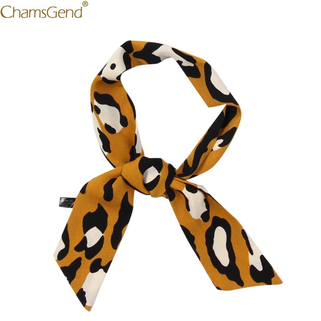 Fashion Accessories winter   scarf   Women Ribbon Leopard Print   Scarf     Wrap   Shawls Soft Silk scarfs for ladies high quality. Dec17
