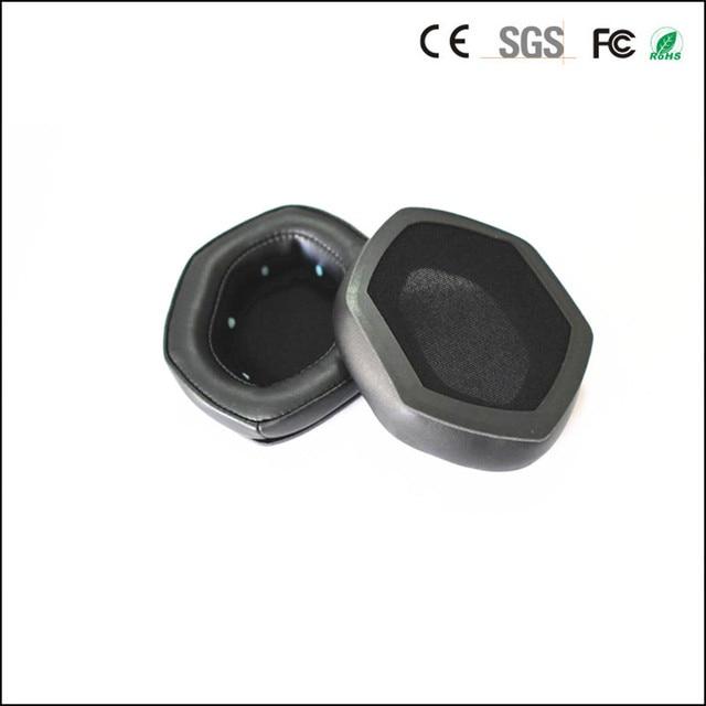 Linhuipad 1 pair V Moda headset ear cushion memory foam ear pads protein earpads fit on V Moda Crossfade M 100 LP2 LP