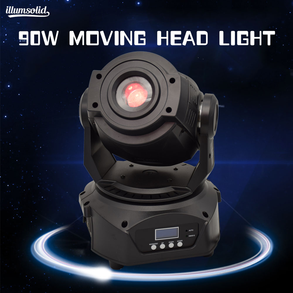 90w Gobo moving head light Stage performance lighting equipment DMX512 Moile Dj 90w Gobo moving head light Stage performance lighting equipment DMX512 Moile Dj