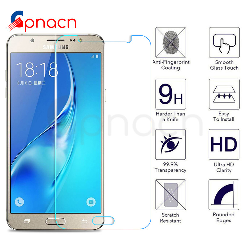 Premium Tempered Glass On The For Samsung Galaxy J3 J5 J7 2015 2016 2017 J2 J4 J6 J8 2018 Screen Protector Protective Glass Film